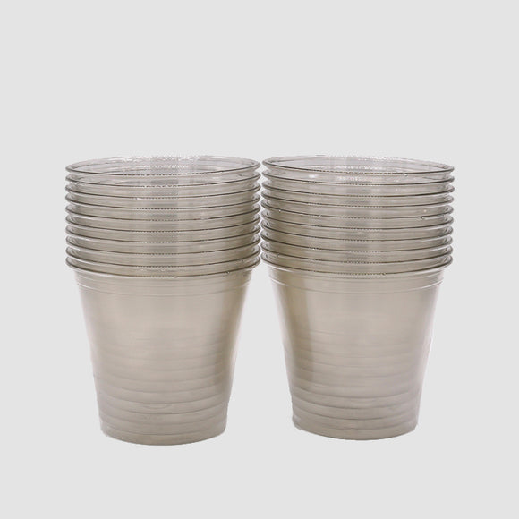 9oz Clear Plastic Cups (Set of 20)