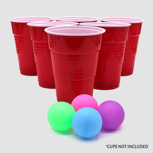 Beer Pong Balls - Multicolor (Set of 4)