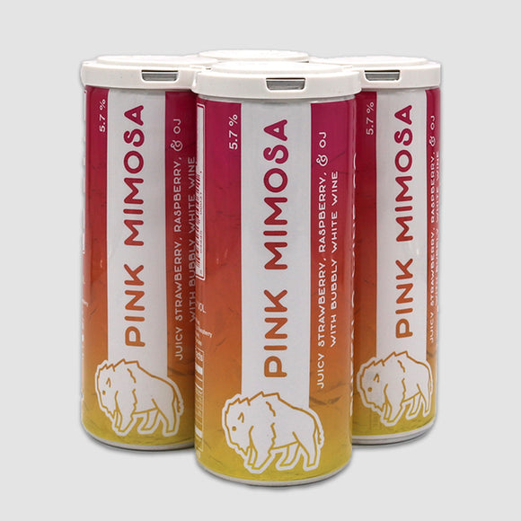 Buffalo Wine Co. Pink Mimosa 250mL Cans (4-pack)