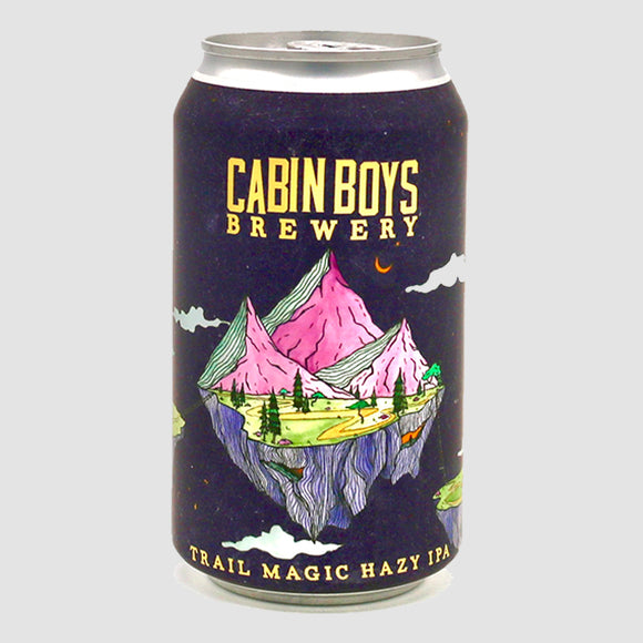 Cabin Boys - Trail Magic Hazy IPA (4-pack)