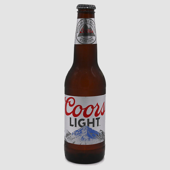 Coors Light - 12-pack (12oz bottles)