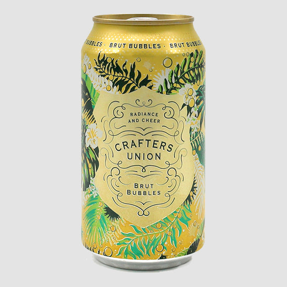 Crafters Union Brut - 375mL Cans (half-bottle)