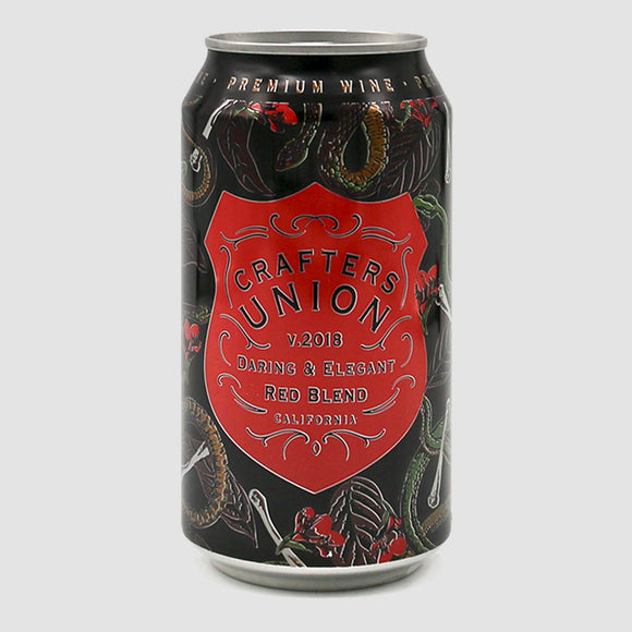 Crafters Union Red Blend - 375mL Cans (half-bottle)
