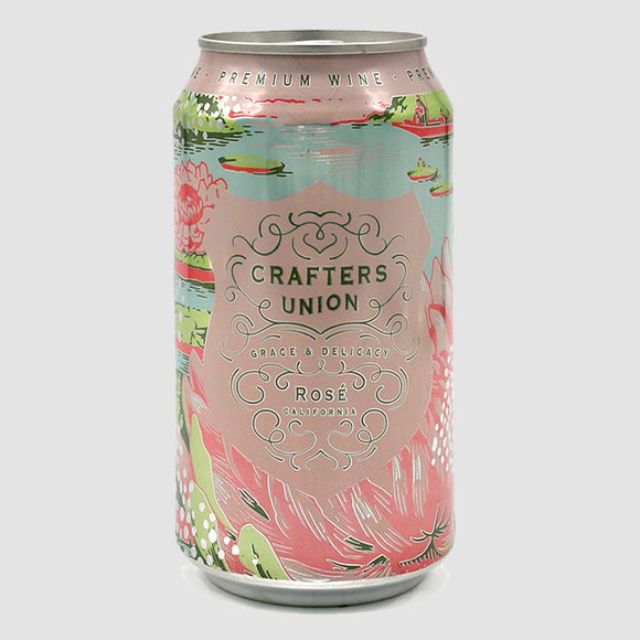 Crafters Union Rosé - 375mL Cans (half-bottle)