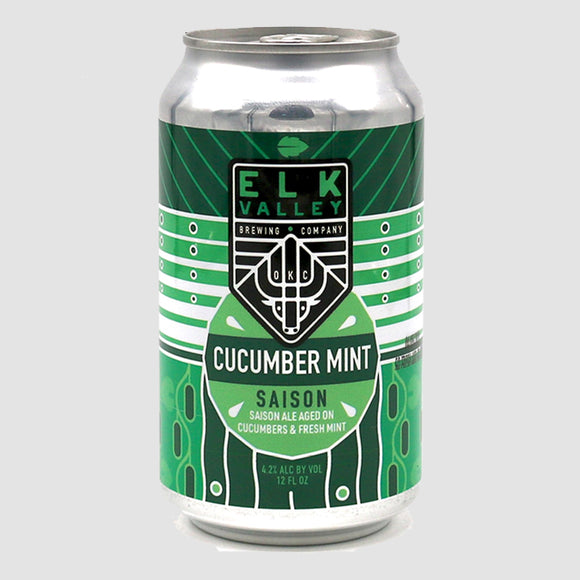 Elk Valley Brewing - Cucumber Mint Saison (6-pack)