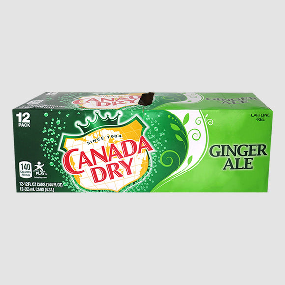 Ginger Ale - 12 Pack