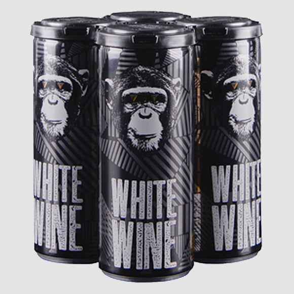 Infinite Monkey - White Wine Cans (4-pack)