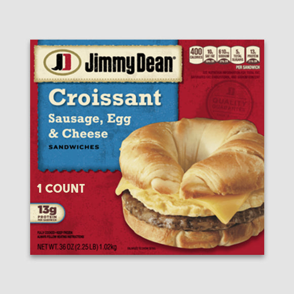 Jimmy Dean Sausage, Egg & Cheese Croissant