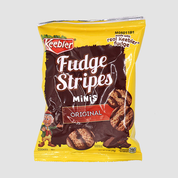 Keebler Fudge Stripes Mini Cookies (2oz)