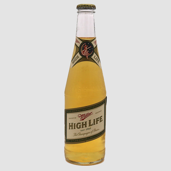 Miller High Life - 12-pack (12oz bottles)