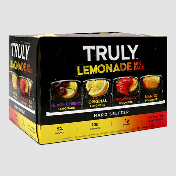 Truly Lemonade Hard Seltzer Mix Pack