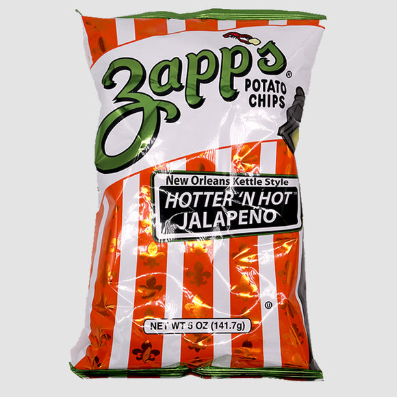 Zapp's Kettle Chips - Hotter ' N Hot Jalapeño (5oz)