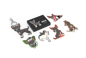 Lil Suka Sticker and Keyring Pack 1 closed lid