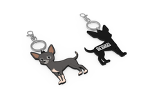 Load image into Gallery viewer, Lil Suka Keyring from angle