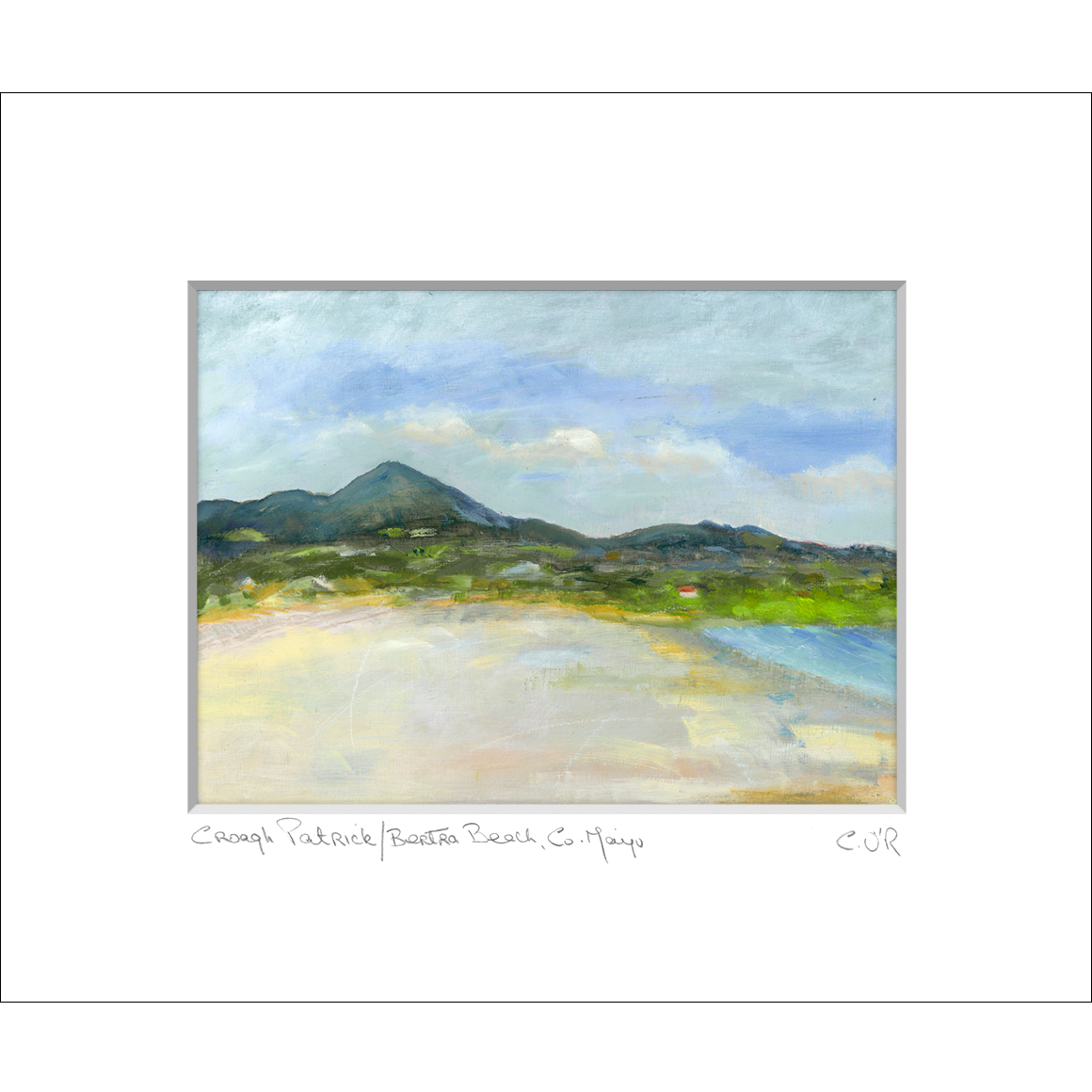 Corry O'Reilly 'Croagh Patrick/Bertra Beach, Co. Mayo'