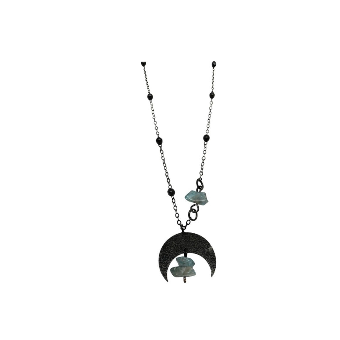 Kaiko - Crystal Moon Necklace