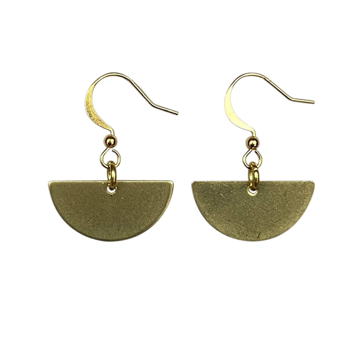 Kaiko Half Moon Earrings