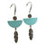 Sandia Drop Earrings - Sage