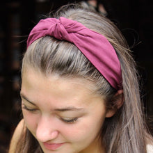Load image into Gallery viewer, Soft Basics Knot Top Headband Collection