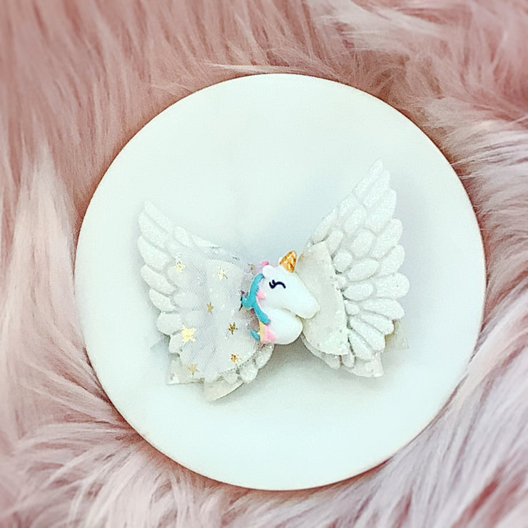 Unicorn Dream Bow- 2 Colors-TheBowsandtheBees