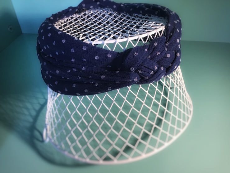 Dot Sailor Knot Headband