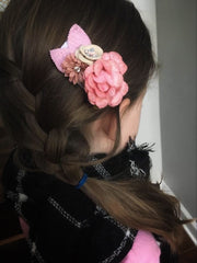 Bonny Silk Flower Clip Collection