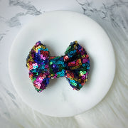 Glam Gal Sequin Mini Bow