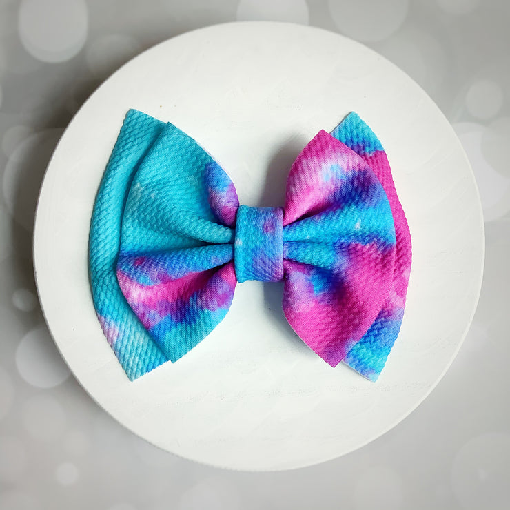 Cotton Candy Bow-TheBowsandtheBees