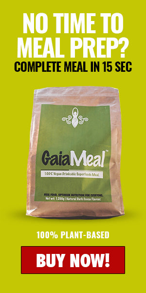 vegan and plant based  superfoods meal replacement by Gaia tribe