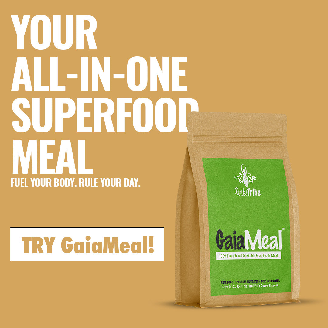 Plant based vegan meal replacement and protein shake for health and weight loss