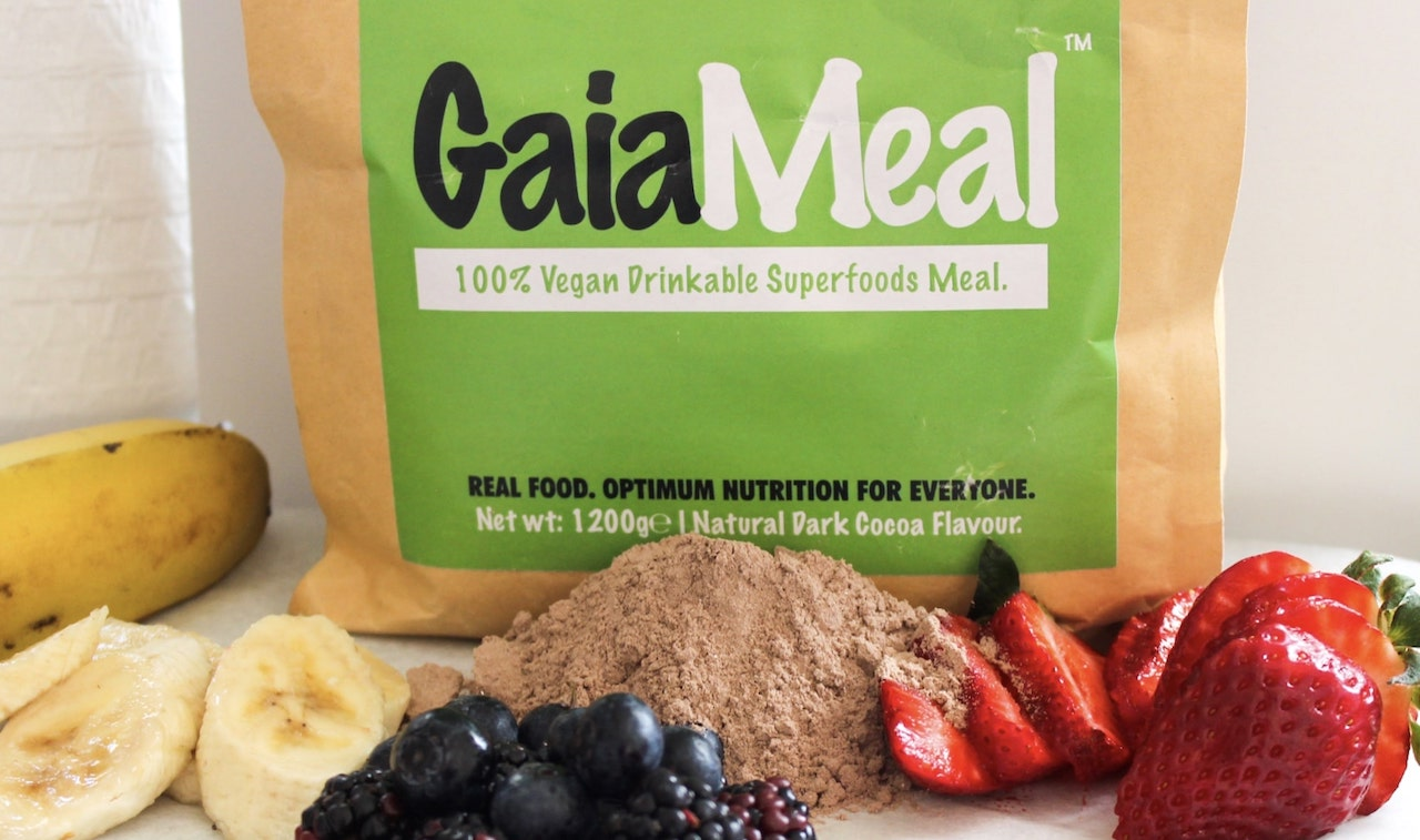 GaiaMeal plant based meal replacement and weight loss shake