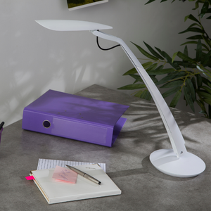LAMPE DESIGN LED BLANCHE SPACE