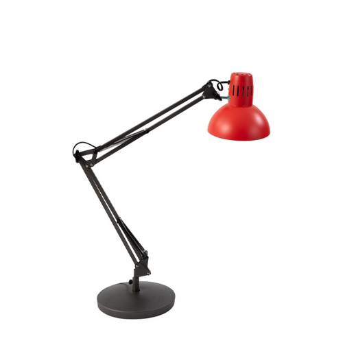 LAMPE LED BUREAU ARCHITECTE ROUGE