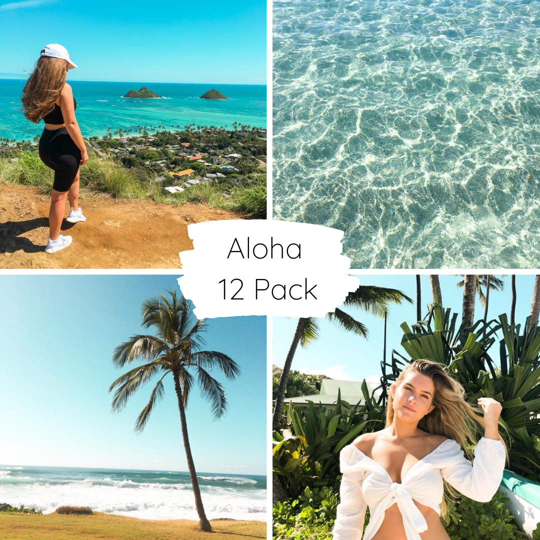 Aloha Full Collection Pack - Lightroom Mobile Presets