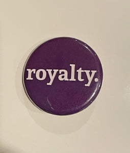 royalty. button
