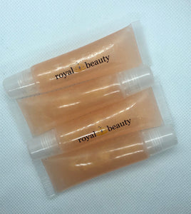 prissy peach lip gloss - squeeze tube