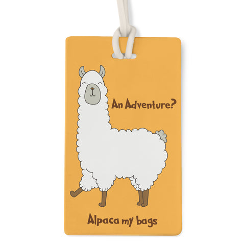 Alpaca - Bag Tag