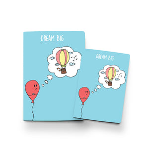Dream Big (Balloon) - Notebook