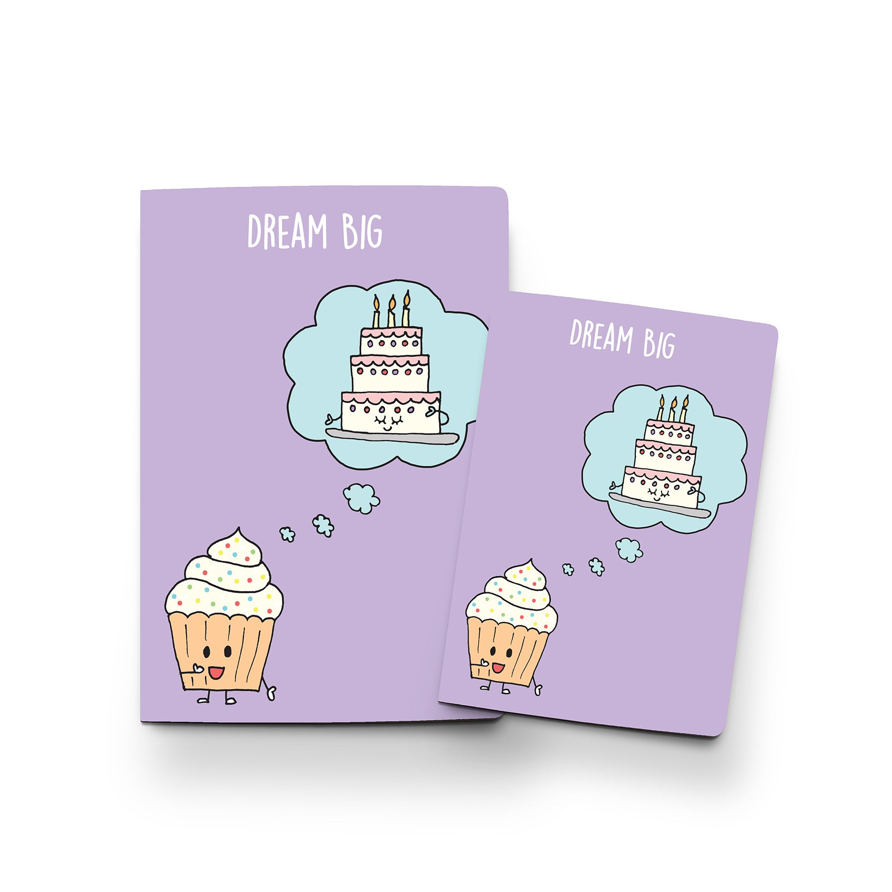 Dream Big (Cupcake) - Notebook