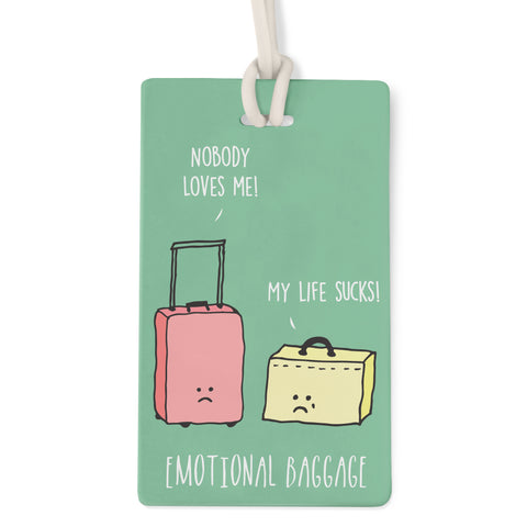 Emotional Baggage - Bag Tag