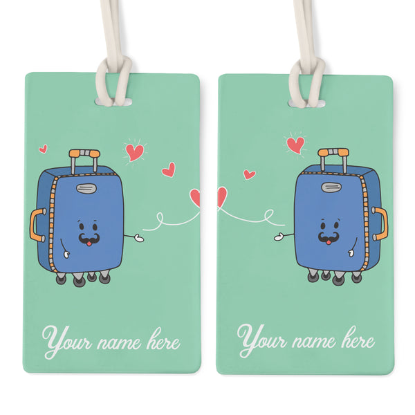 Couples (Personalised) - Bag Tag