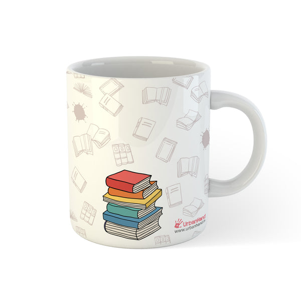 I Like Big Books - Personalised Mug