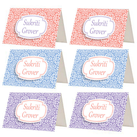 Pastel Pattern Gift Tags - Set of 12 or 24