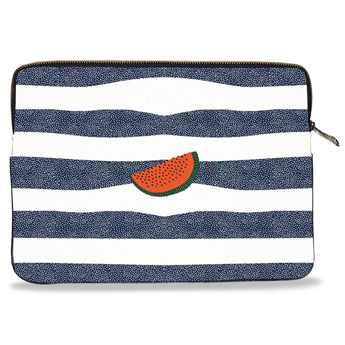 Watermelon Canvas Laptop Sleeve