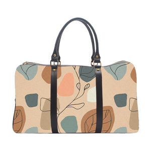 Beige Abstract - Duffle Bag
