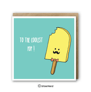Papa Popsicle - Greeting Card