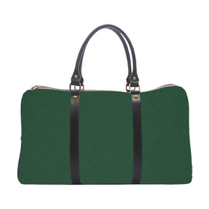 Bottle Green Solid Colour - Duffle Bag