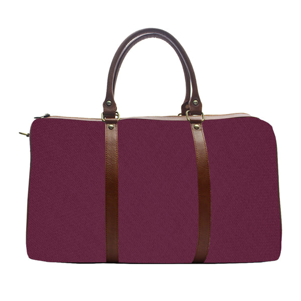 Wine Solid Colour - Duffle Bag
