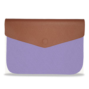 Lilac solid color Envelope Laptop Sleeve