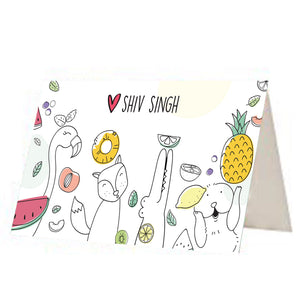 Quirky Animal Gift Tags - Set of 12 or 24